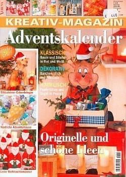 verena kreativ magazin adventskalender e821. Black Bedroom Furniture Sets. Home Design Ideas